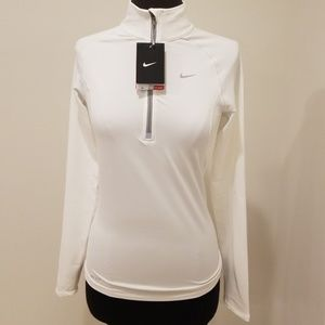 NWT! Nike Dri-Fit White Size XS Pullover